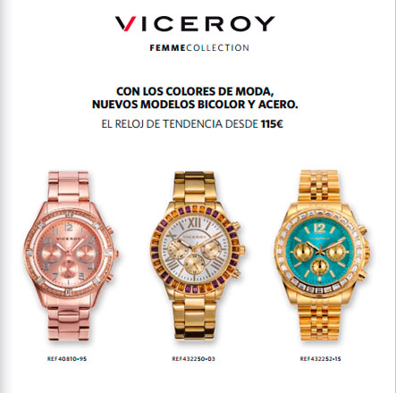 Relojes viceroy mujer 2014
