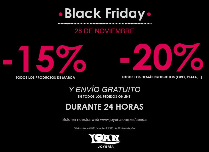 Black Friday Viernes Negro De Descuento En Joyeria Y
