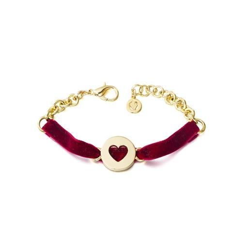 PULSERA VELVET PARIS GOLD VP01G