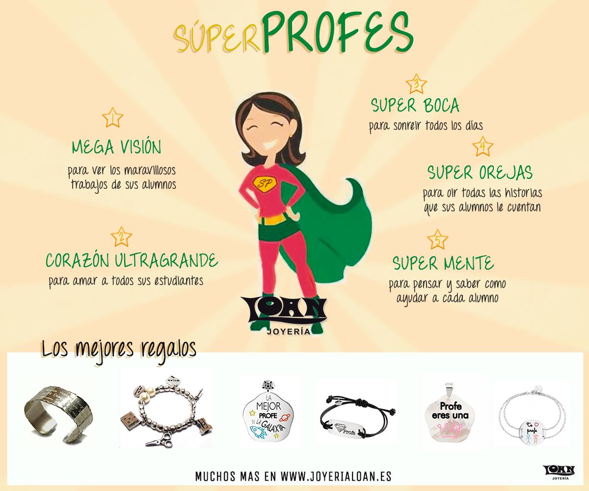 Regalos Personalizados para Super Profes