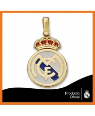 Colgante Real Madrid en Esmalte de Color