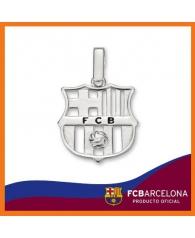 Colgante en Plata F.C.Barcelona