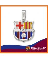Colgante  F.C.Barcelona en Esmalte