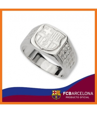 Sello F.C.Barcelona en Plata - Joyeria Loan 239ca0c7491