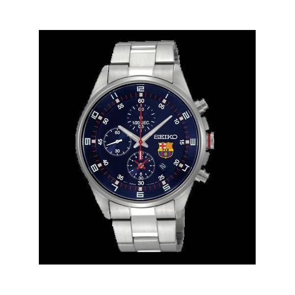 Reloj Seiko Futbol Club Barcelona Esfera Azul - Joyeria Loan 5323eaf25b2