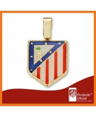 Colgante  Atlético de Madrid en Oro