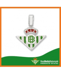 Colgante Real Betis Balompié Con Esmalte