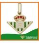 Colgante Real Betis Balompié en Oro