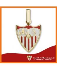 Colgante Oro Esmalte Sevilla F.C