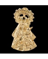 Patrona en oro de la Virgen de los Remedios de Belmez