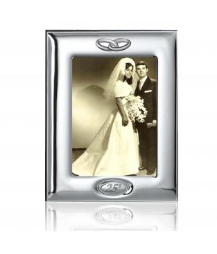 Marco de plata bodas de plata 13x18 cm - Marcos de plata para bodas ...