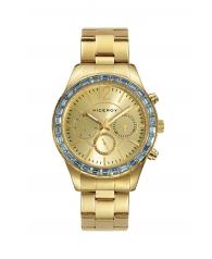 Reloj Viceroy Señora Dorado con Cristales en la Esfera