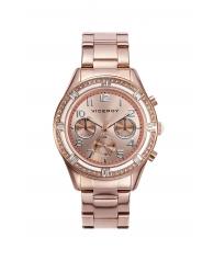 Reloj Viceroy Mujer Rosa Metalizado con Circonitas